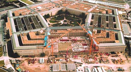 Masonry Magazine Rising From The Pentagon S Ashes