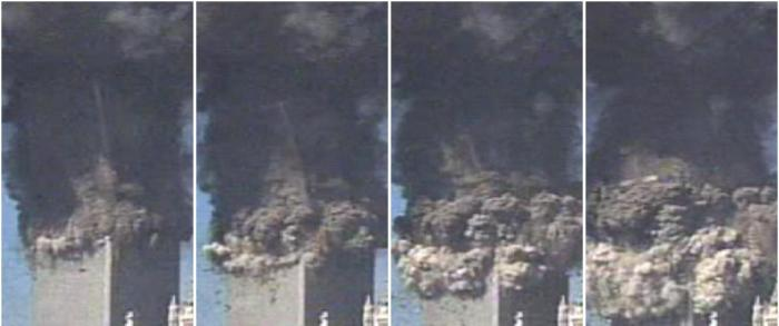 9 11 Research Breakup Of Wtc 2 S Top