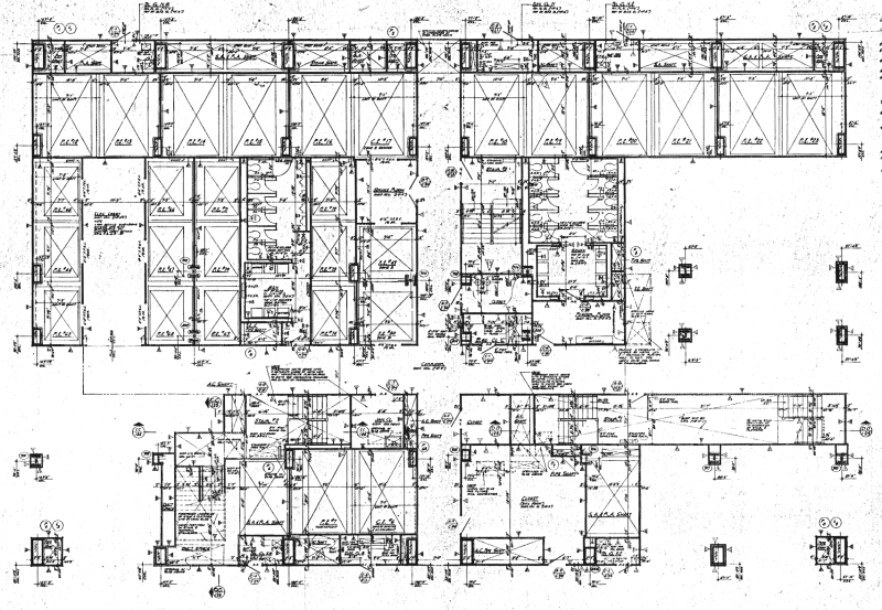 9-11 Research: Tower Blueprints