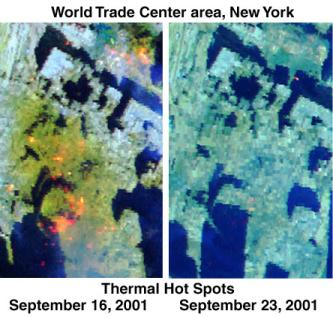 Thermal Map Of The World.9 11 Research Persisting Heat