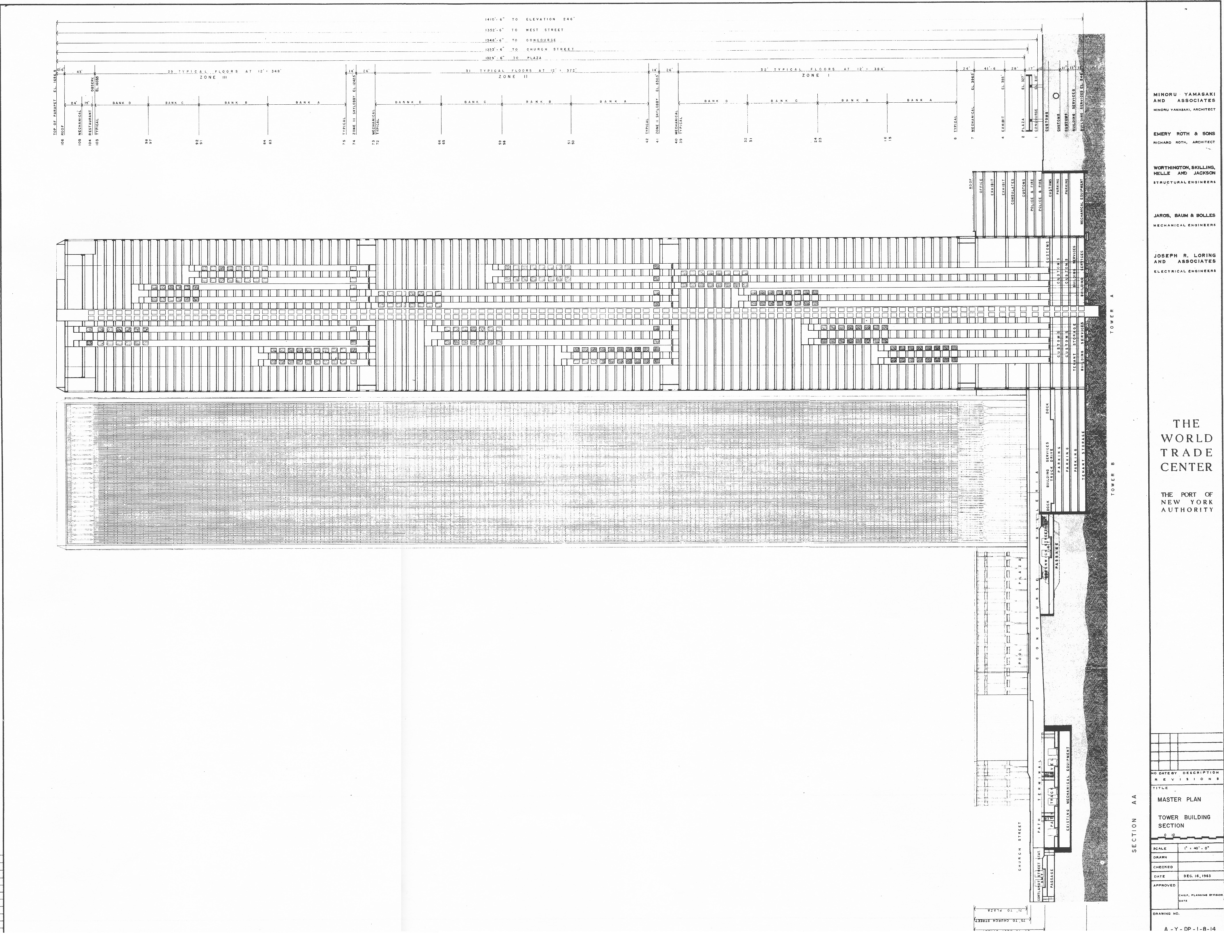 100 Wtc Floor Plan Collapse Of The World Trade Center World  # Expo Muebles Wtc Df