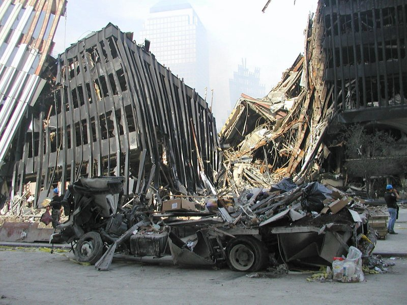 911 research wtc 4 damage