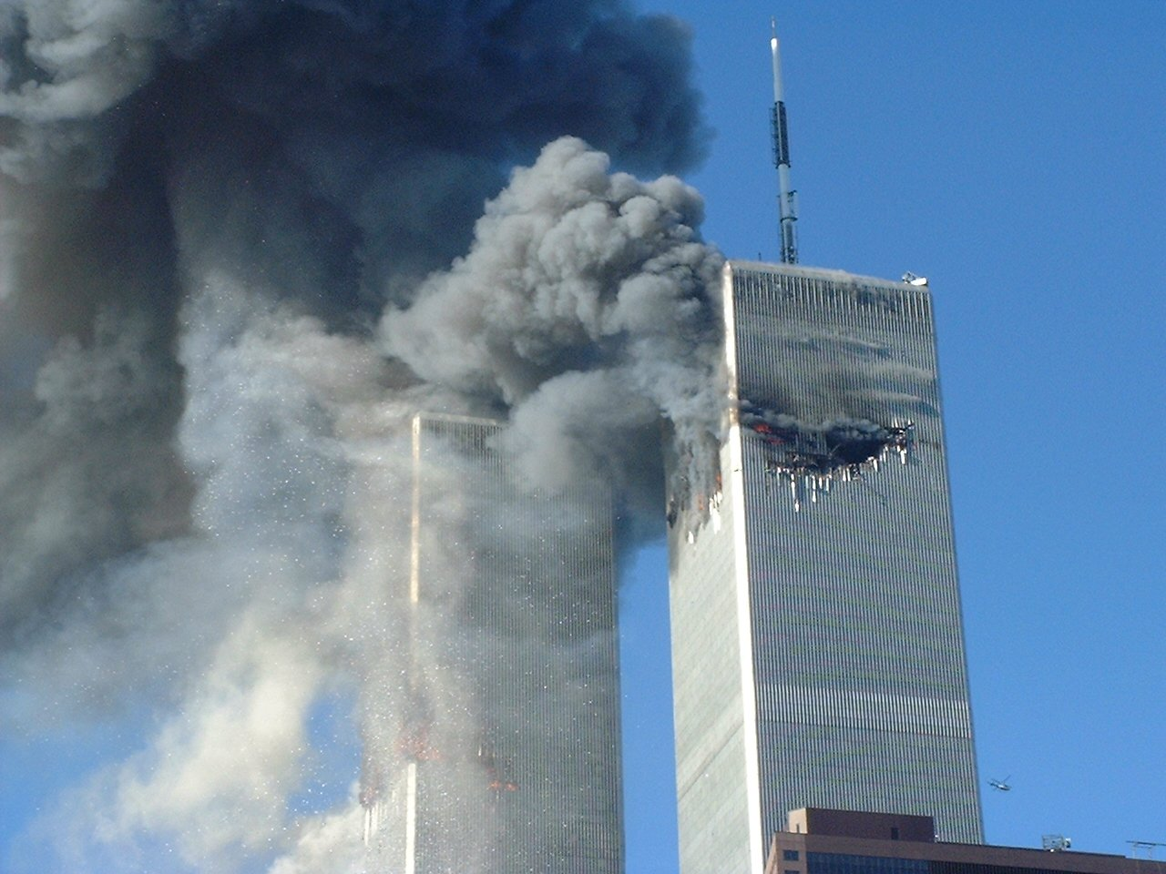9 11 twin towers plane crash