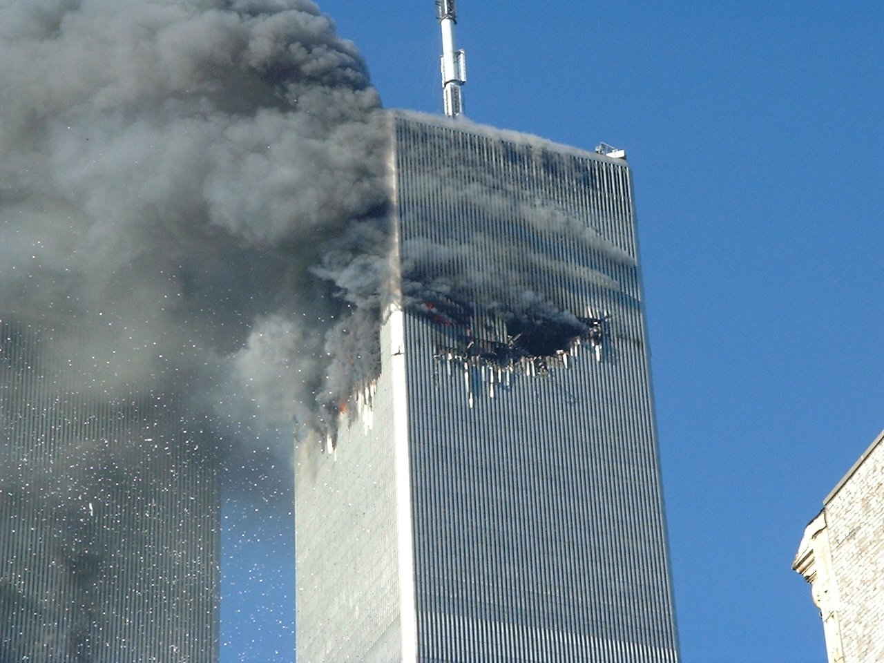 9 11 Research Fires In The Towers