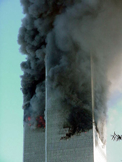 9 11 Research Fires In The Twin Towers From The South