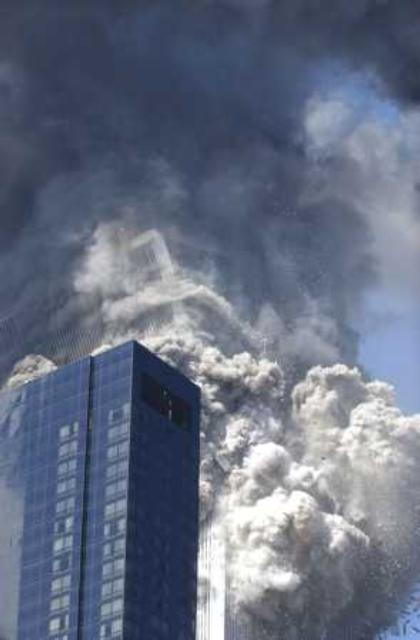 911 research south tower collapse